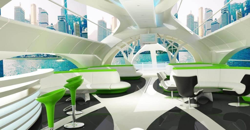futuristic home decor